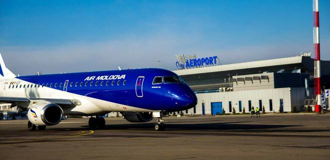 Air Moldova возобновляет полеты в Борисполь - Фото
