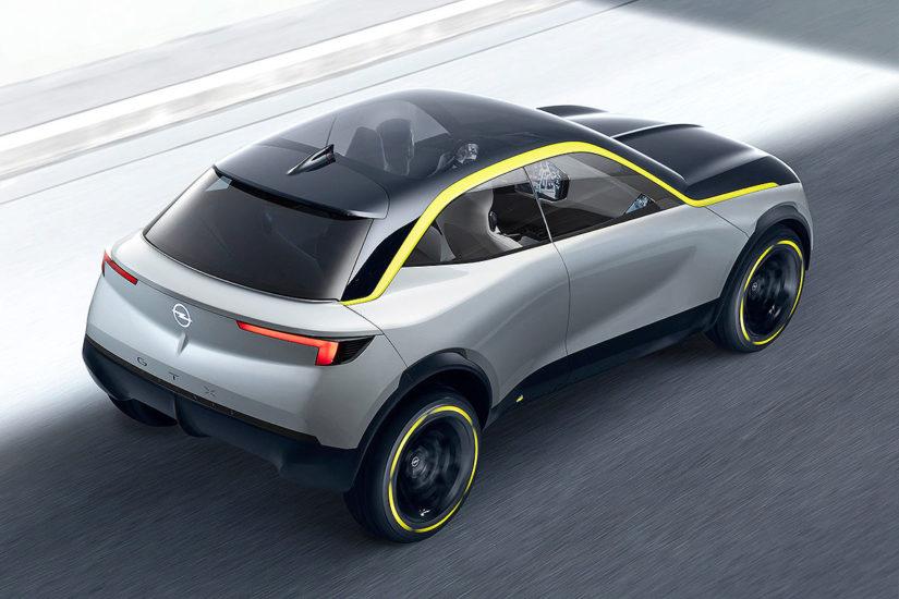Компания Опель представила новый концептуальный автомобиль GTXExperimental