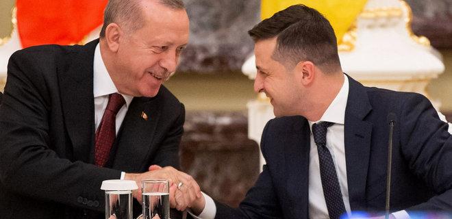 Президент Владимир Зеленский и Реджеп Эрдоган обсудили снижение таможенных  ставок - новости Украины, - LIGA.net