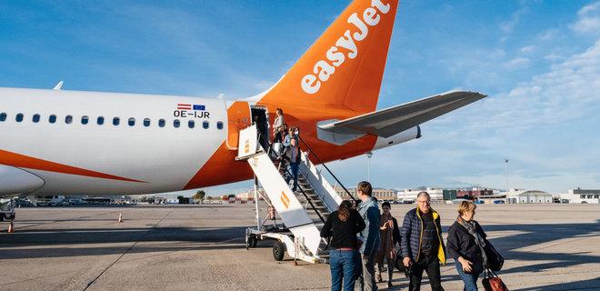 easyJet начнет летать в Украину