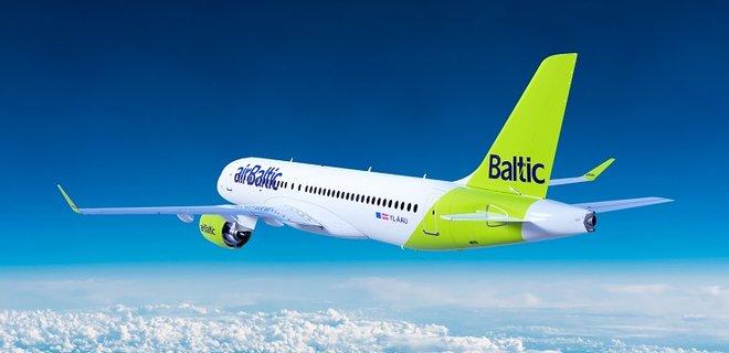 АirBaltic открывает прямой рейс из Вильнюса в Киев - Фото