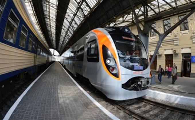 Скоростные поезда в Украине  дороже, чем в Чехии и Польше