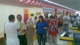 Имущество трех магазинов Фуршет арестовано