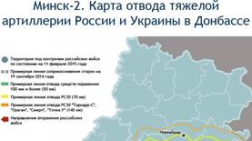 Минск-2. Где должны пройти линии отвода тяжелой артиллерии в Донбассе