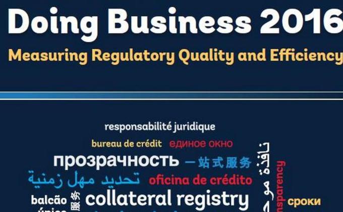 Украина поднялась в рейтинге Doing Business на 13 позиций
