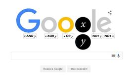 Google сделал дудл в честь 200-летия со дня рождения Джорджа Буля