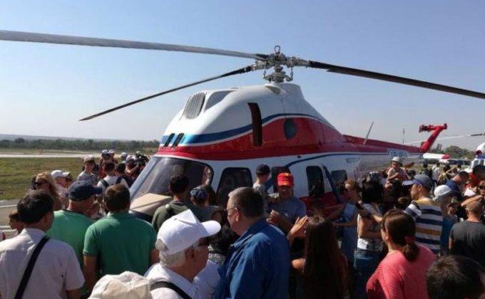 Мотор Сич показала новый украинский вертолет: фото
