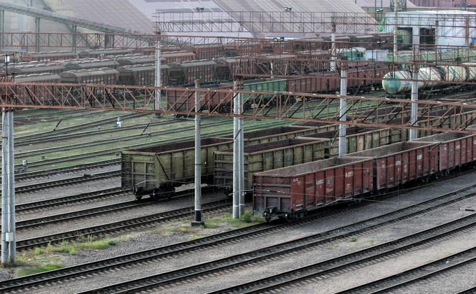 Как запускали контейнерный поезд из порта Южный в Днепр