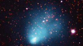 Квадриллионы солнц: астрономы показали сверхскопление галактик