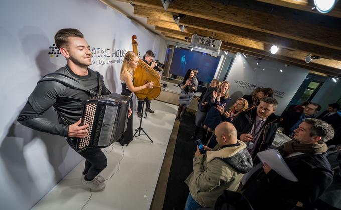 Украинцы в Давосе: фоторепортаж