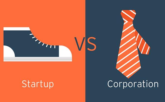"""Стартапы vs корпорации. Пять способов """"подружить"""" две экосистемы"""