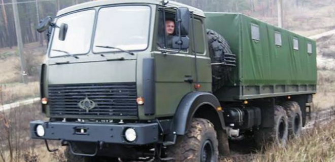 ВСУ приняли на вооружение грузовик Богдан 63172 - Фото