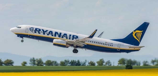 Ryanair изменил время прибытия и отправления рейсов из Борисполя - Фото