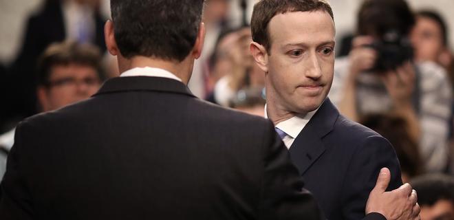 Цукерберг: Мы слишком медленно реагировали на ботов из России - Фото