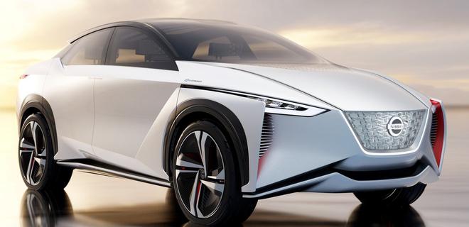 Nissan покажет новый электромобиль в этом месяце - Фото