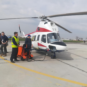 Первый украинский вертолет впервые поднялся в небо: видео