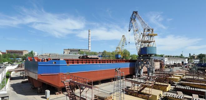 Нибулон приступил к строительству первого 140-метрового судна - Фото