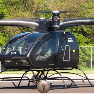 Коптер-аэротакси SureFly впервые поднялся в воздух: видео