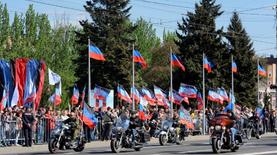 """Боевики согнали """"бюджетников"""" в Донецке на акцию"""