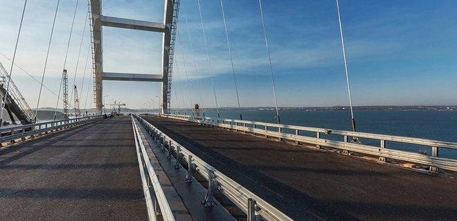 В Мининфраструктуры оценили потери от российского моста в Крыму - Фото