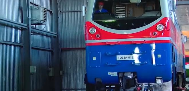 General Electric начала строить первый локомотив для Укрзалізниці - Фото