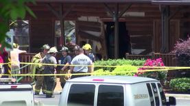 В США машина въехала в ресторан: двое погибли