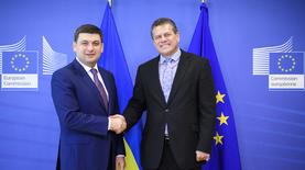 Украина и ЕС договорились о трехсторонних газовых переговорах