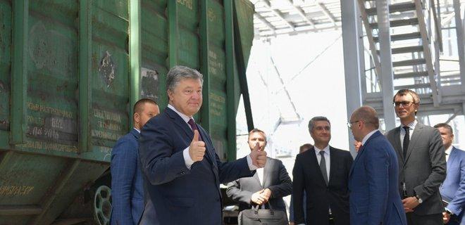 Товарооборот между Украиной и США вырос в 4 раза - Порошенко - Фото