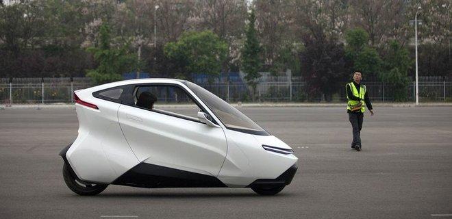 Китайцы создали автономный электрогирокар - Фото