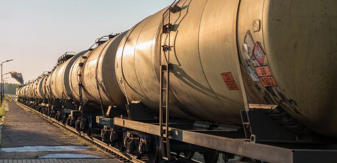 УЗ начала разворачивать цистерны с российским сжиженным газом - Фото